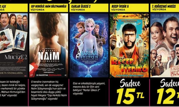 Cinemaximum'dan kampanya